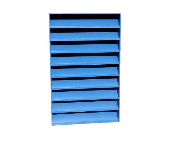 Our K Series 100mm architectural natural ventilation Louvre