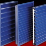 K Series architectural natural ventilation Louvres