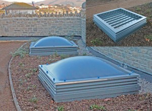 Ventura Rooflights with security bars