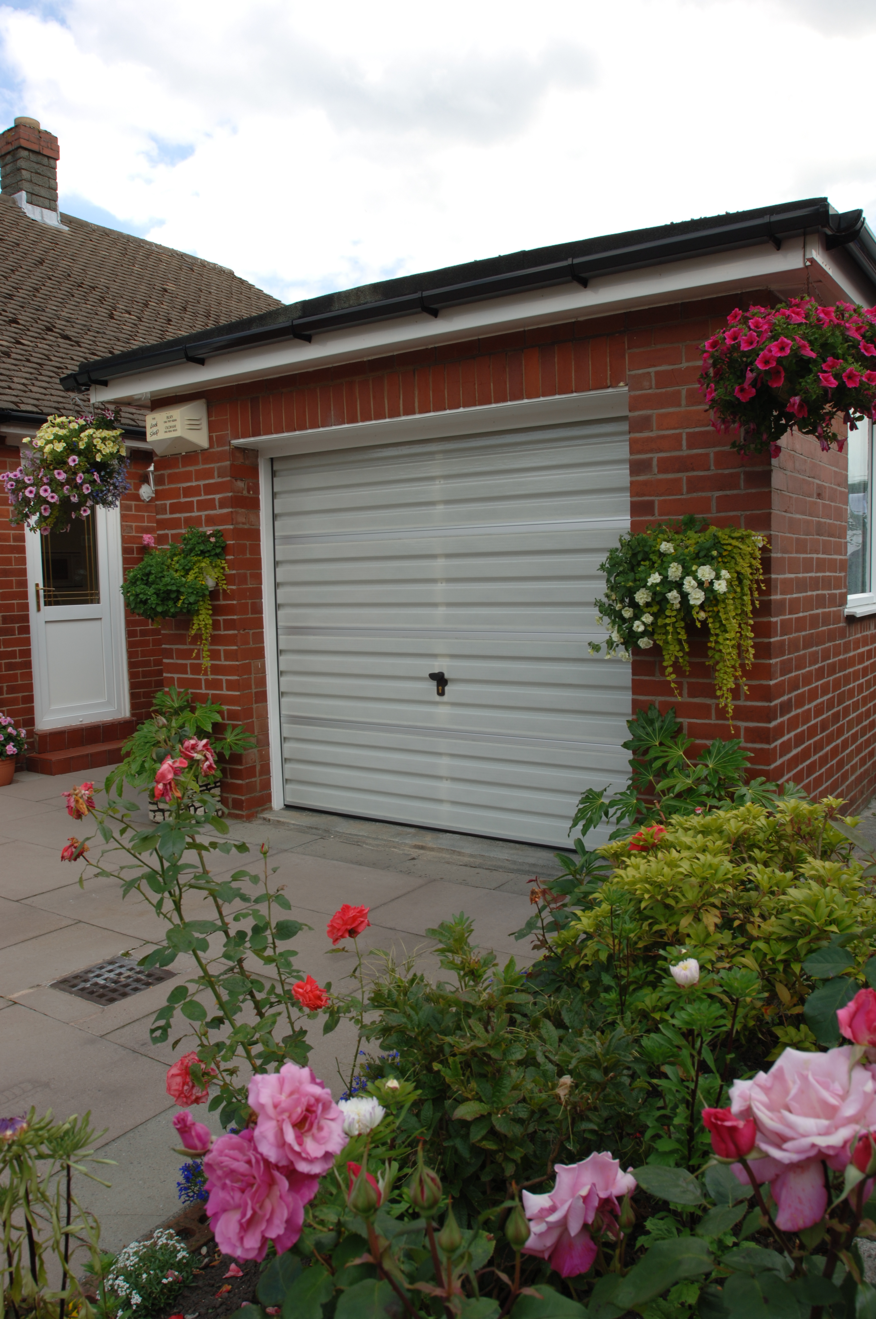 An external view of a Filuma Garage Door in-situ