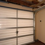 An internal view of a Filuma Garage Door