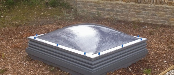 A Ventura rooflight in-situ at Swanage rowing club