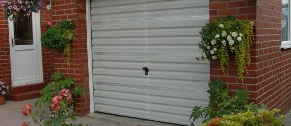 A single width new style Filuma Garage Door